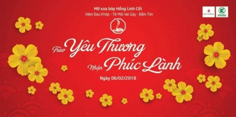 """Trao Yêu thương – Nhận Phúc lành"" cùng Hồng Linh Cốt"