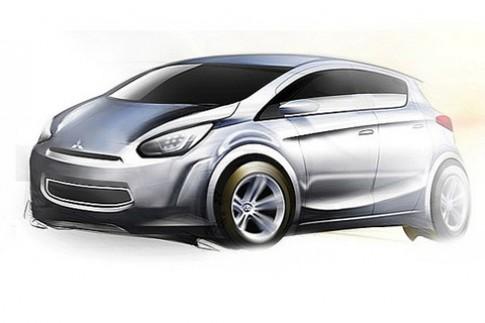 Xe cỡ nhỏ mới của Mitsubishi sẽ sản xuất ở Thái Lan