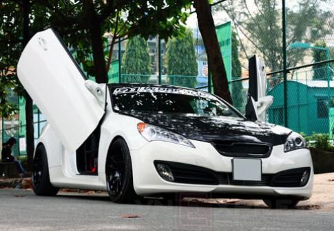 Xế độ Hyundai Genesis Coupe độc đáo ở Sài Gòn