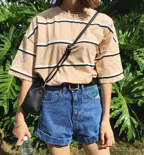3 lựa chọn cho bộ đôi quần short và áo thun
