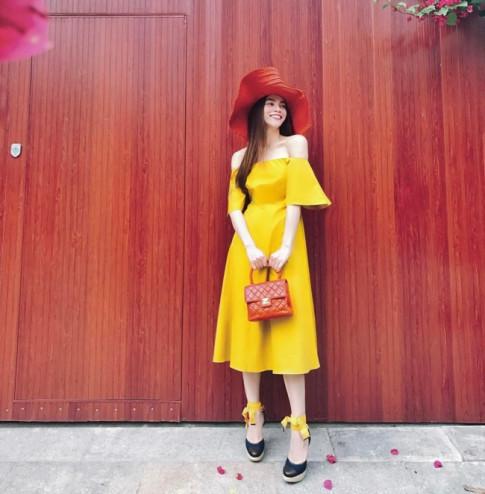 #CELEBICON 4/4: Bất chấp trời nóng bức, sao Việt rủ nhau lên đồ toàn màu rực rỡ
