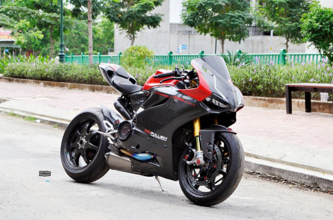 Ducati 1199 Panigale hút hồn trong bản độ đắt giá tại Việt Nam