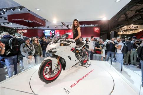 Ducati SuperSport được đánh giá là mẫu xe đẹp nhất tại sự kiện EICMA 2016