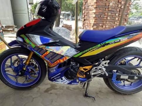 Exciter 150 bảy màu của biker Trà Vinh