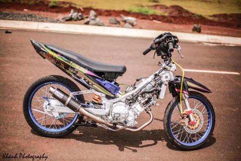 Exciter 62zz của 1 biker gia lai theo công nghệ mới và phong cách lạ mắt