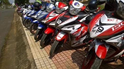 Hơn 100 biker tụ hợp tại chùa Linh Ấn
