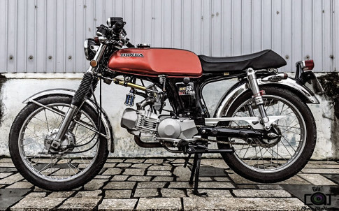 Honda 67 do cuc chat voi bo may 190cc