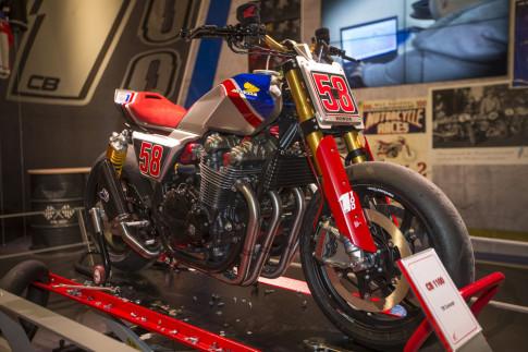 Honda CB1100 TR giới thiệu hoành tráng tại EICMA 2016