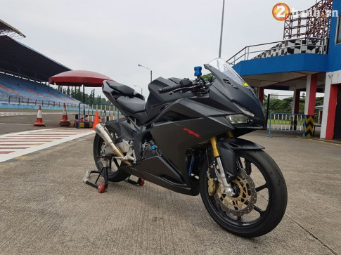 Honda CBR250RR moi vua ra mat da co ban do chat tu Indonesia