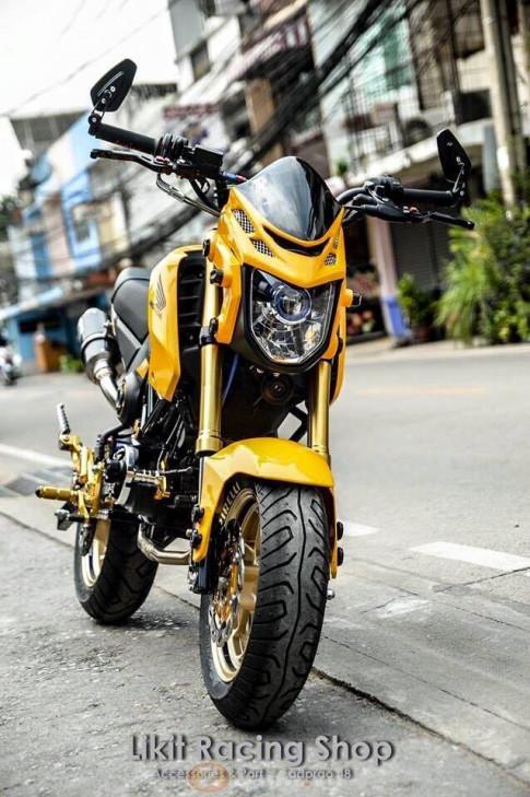 Honda MSX đầy cá tính với phiên bản Yellow Racing