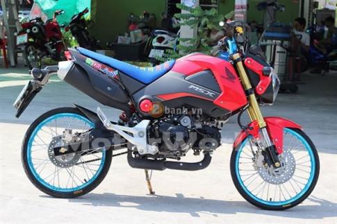 Honda MSX độ đơn giản nhưng đậm chất Thái