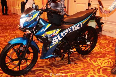 """Lieu Raider F150 Fi co """"keo"""" Suzuki tro lai?"""