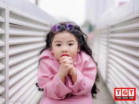 Mẫu nhí 6 tuổi đáng yêu, diện đồ cực sành điệu ở Hà Thành