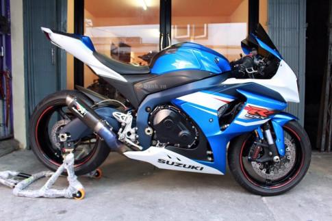 Suzuki GSX-R1000 độ đơn giản nhưng đầy chất lượng