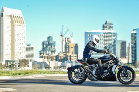 Trên yên cảm nhận khả năng vận hành của Ducati XDiavel S 2016