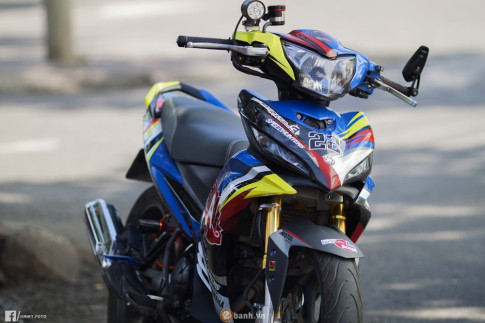 Yamaha Exciter độ chất của đại gia miền Tây xuất hiện trong sự kiện tại Vũng Tàu