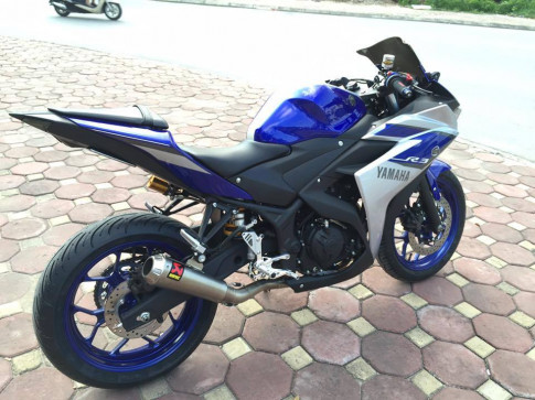 Yamaha R3 do nhe nhung day chat choi cua biker Viet