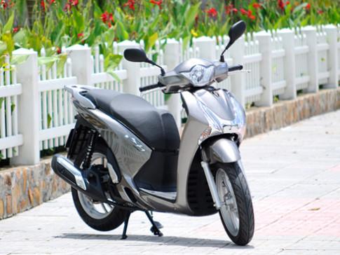 Ảnh chi tiết Honda SH Việt 2012
