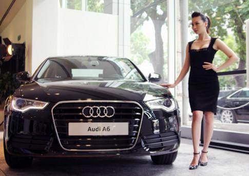 Audi A6 2.0T chính hãng có giá từ 2,2 tỷ đồng