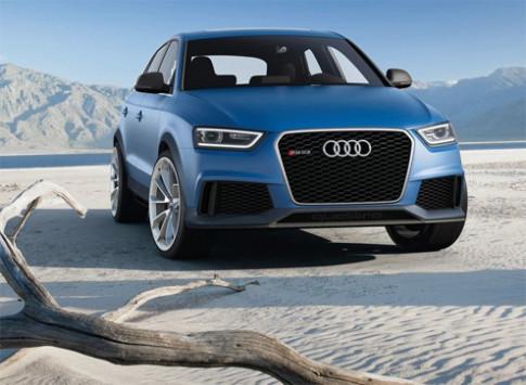 Audi trinh lang RS Q3 concept