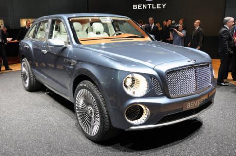 Bentley trinh lang concept SUV sieu sang