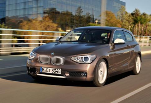 BMW ra mắt serie 1 ba cửa đời 2012