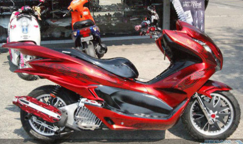 'Độ' Honda PCX ở Thái Lan