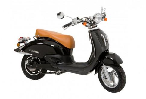 Etropolis Retro Lithium - scooter Đức giống Honda