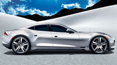 Fisker Karma - the thao hang sang kieu My