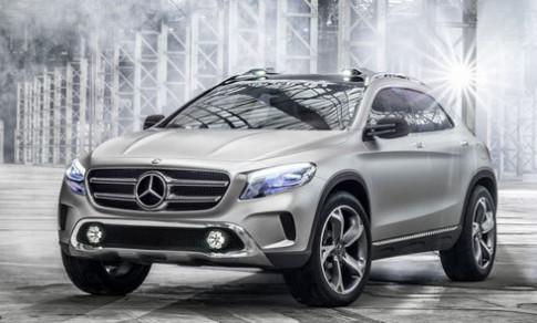 Hình ảnh đầu tiên của Mercedes GLA concept