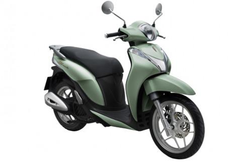 Honda SH Mode phien ban moi gia 50,5 trieu dong