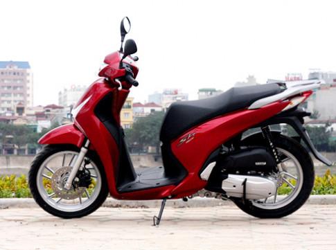Honda SH nhập Italy có giá 177 triệu đồng