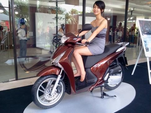 Honda SH - từ xe ga cao cấp thành bình dân
