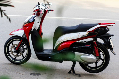 Honda SH300i ve airbrush ban do Viet Nam