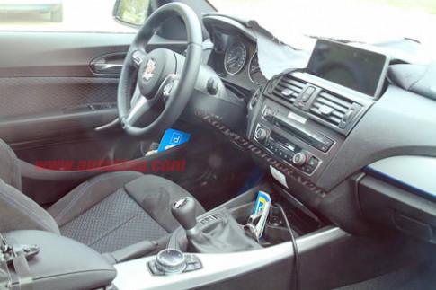 Lộ ảnh nội thất BMW serie 2