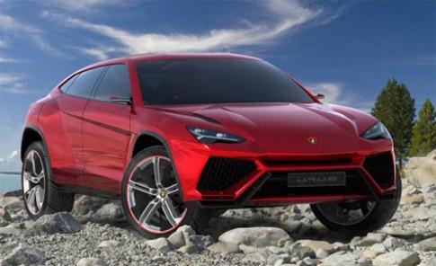 Lo anh xe duoc cho la SUV moi cua Lamborghini