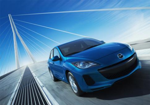 Mazda công bố giá bán Mazda3 2012
