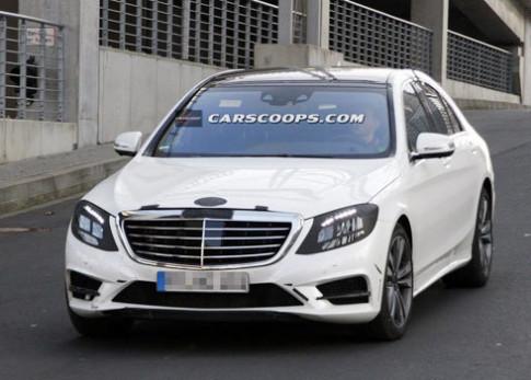 Mercedes S-class thế hệ mới lộ diện
