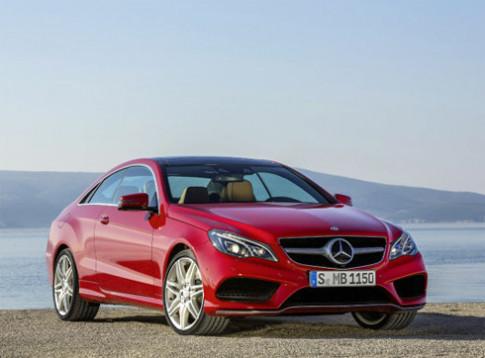Mercedes tung ảnh E-class coupe và mui trần 2014