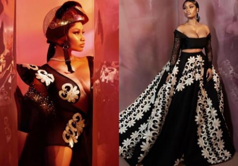 Nicki Minaj diện trang phục của hai nhà thiết kế Việt