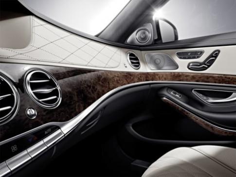Nội thất thượng hạng trên Mercedes S-class 2014