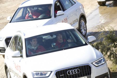 Sao Barcelona lái thử Audi Q3