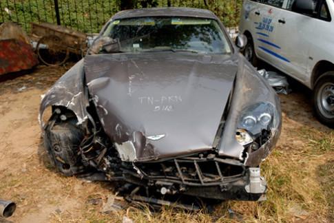 Siêu xe gặp nạn ở Việt Nam