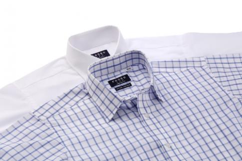Ứng dụng công nghệ chống nhăn Easy Care cho áo sơ mi nam