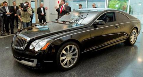 Xe siêu sang Maybach phiên bản coupe