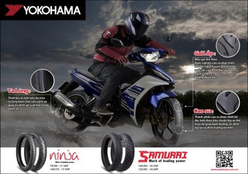 YOKOHAMA Việt Nam ra mắt cặp đôi lốp mới cho Exciter và SH