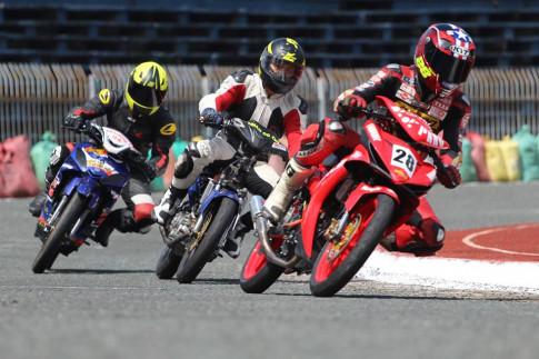 Danh sách các vận động viên thi đấu vòng 1 hệ xe EXCITER 135cc – RAIDER 150cc