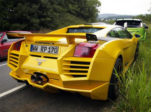 Lamborghini Gallardo độ kiểu 'lạ'
