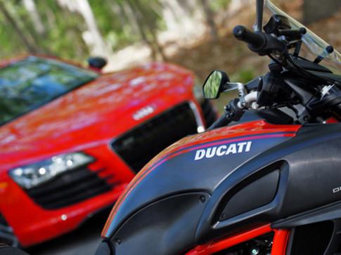 Lamborghini sở hữu Ducati