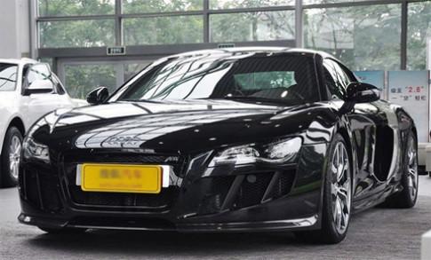 Siêu xe Audi R8 cửa kiểu Lamborghini
